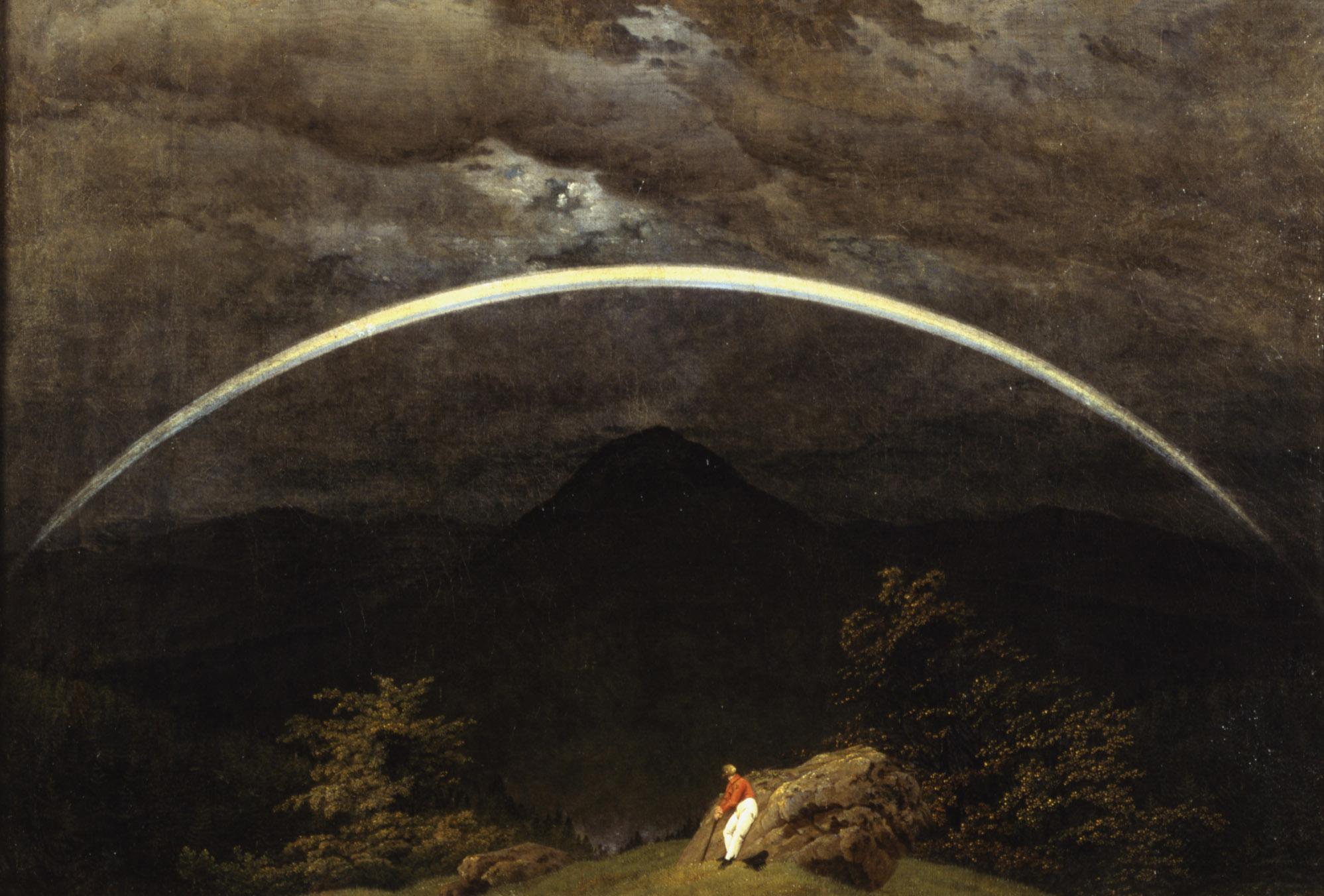 caspar david friedrich paesaggio montano con arcobaleno 1809 1810 l 39 unico blog ufficiale. Black Bedroom Furniture Sets. Home Design Ideas