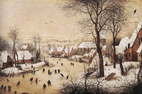 800px-Pieter_Bruegel_the_Elder_-_Winter_Landscape_with_Skaters_and_Bird_Trap_-_WGA03333