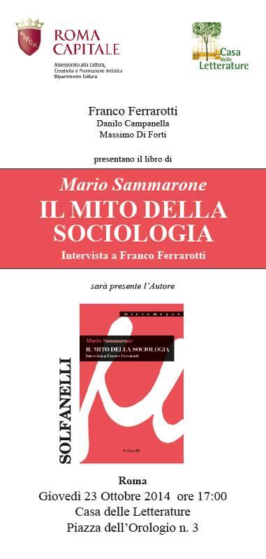 mito sociologia
