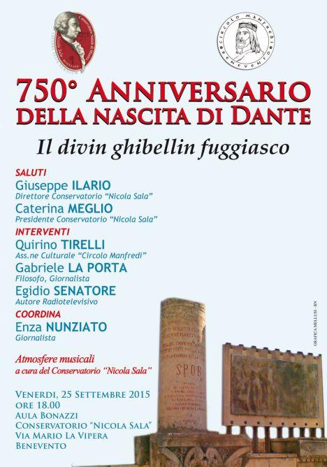 Gabriele La Porta Egidio Senatore Dante Benevento