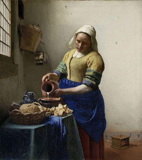 Vermeer_The_Milkmaid_1660_ca